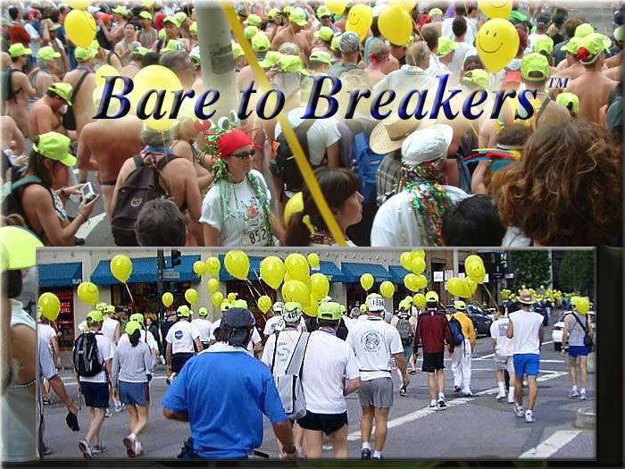 BARE TO BREAKERS - Bay to Breakers